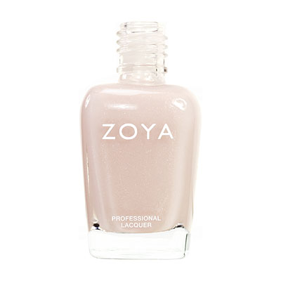 Zoya Nail Polish - Erin - ZP348 - French, Nude, Metallic, Warm