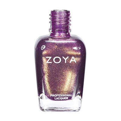 Zoya Nail Polish - Faye - ZP551 - Purple, Metallic, Warm, Cool