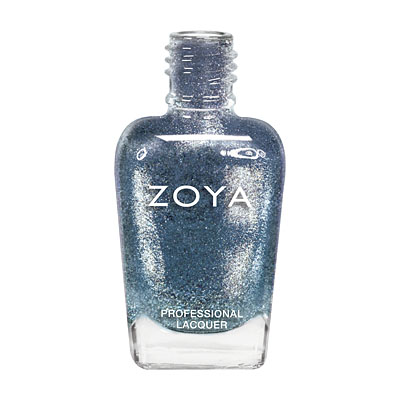 Zoya Nail Polish - FeiFei - ZP636 - Blue, Metallic, Cool