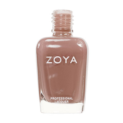 Zoya Nail Polish ZP139  Flowie  Brown Nail Polish Cream Nail Polish
