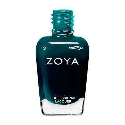 Zoya Nail Polish - Frida - ZP640 - Green, Jelly, Cool