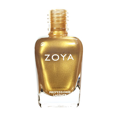 Zoya Nail Polish ZP483  Goldie  Gold Nail Polish Metallic Nail Polish