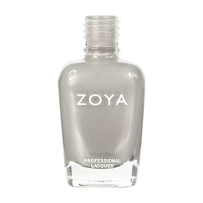Zoya Nail Polish - Harley - ZP468 - Grey, Metallic, Warm