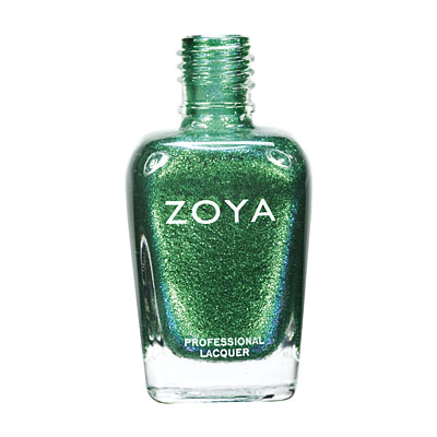 Zoya Nail Polish ZP507  Ivanka  Green Nail Polish Metallic Nail Polish