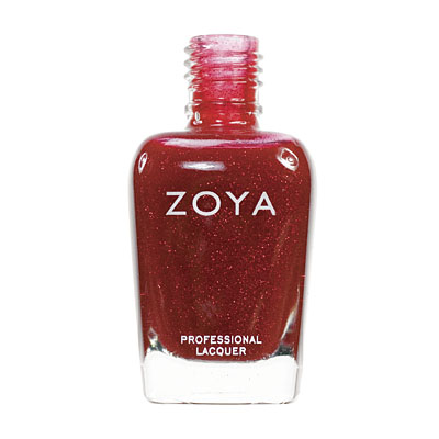 Zoya Nail Polish ZP196  Jade  Red Nail Polish Metallic Nail Polish