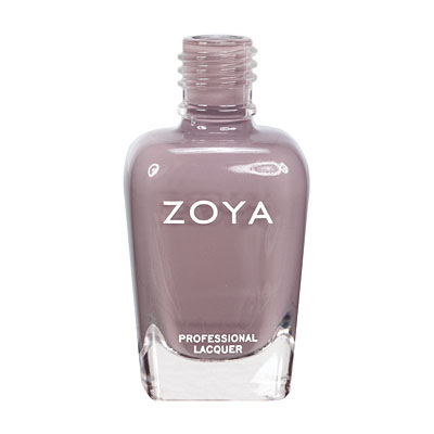 Zoya Nail Polish ZP564  Jana  Mauve Gray Purple Nail Polish Cream Nail Polish