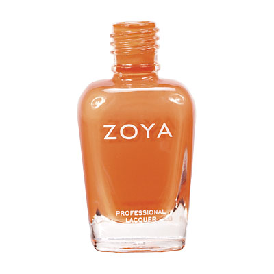 Zoya Nail Polish ZP518  Jancyn  Orange Nail Polish Cream Nail Polish