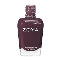 Zoya Nail Polish ZP638  Kathere  Burgundy Purple Nail Polish Jelly Nail Polish thumbnail