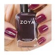 Zoya Nail Polish ZP638  Kathere  Burgundy Purple Nail Polish Jelly Nail Polish
