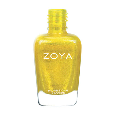 Zoya Nail Polish - Kerry - ZP684 - Yellow, Metallic, Warm, Neutral