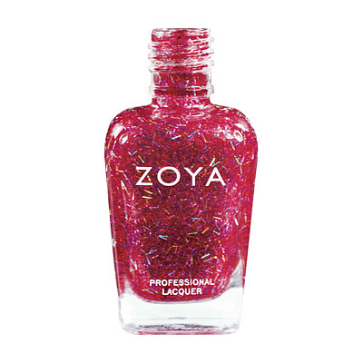 Zoya Nail Polish - Kissy - ZP578 - Red, Special Effect, Warm, Cool