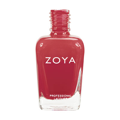 Zoya Nail Polish ZP443  LC  Red Nail Polish Cream Nail Polish