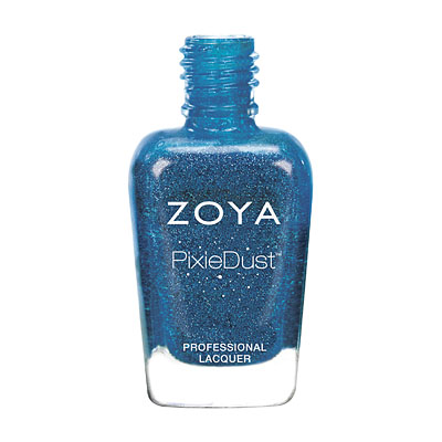 Zoya Nail Polish - Liberty - PixieDust - Textured - ZP681 - Blue, Cool, Neutral