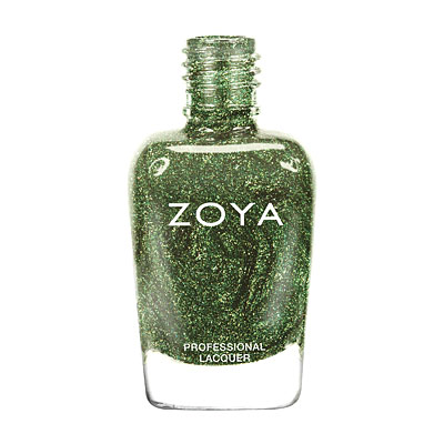 Zoya Nail Polish - Logan - ZP647 - Green, Holographic, Cool