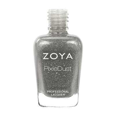 Zoya Nail Polish ZP661 Zoya PixieDust - Textured Nail Polish London  Gray Nail Polish PixieDust - Textured Nail Polish