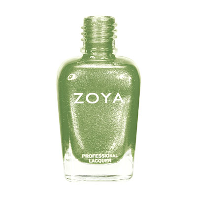 Zoya Nail Polish - Meg - ZP624 - Green, Metallic, Warm, Cool