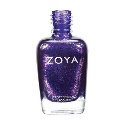 Zoya Nail Polish - Mimi - ZP509 - Purple, Metallic, Cool