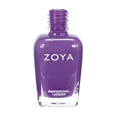 Zoya Nail Polish ZP556  Mira  Purple Nail Polish Cream Nail Polish