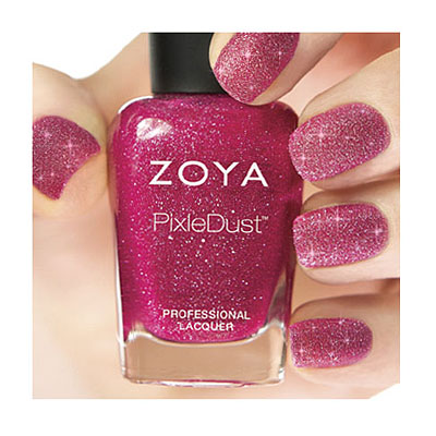 Zoya Nail Polish in Miranda - PixieDust - Textured alternate view 2 (alternate view 2 full size)
