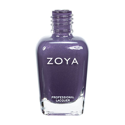 Zoya Nail Polish ZP574  Neeka  Red Purple Nail Polish Metallic Nail Polish