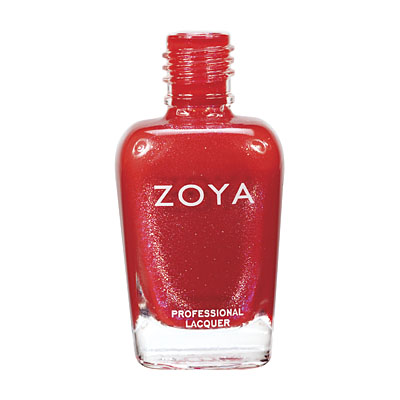 Zoya Nail Polish - Nidhi - ZP511 - Red, Metallic, Cool