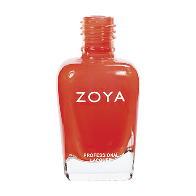 Zoya Nail Polish ZP477  Paz  Orange Nail Polish Cream Nail Polish