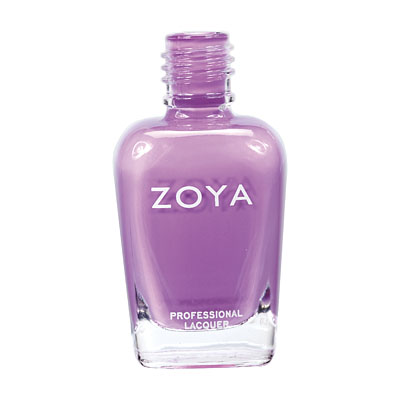 Zoya Nail Polish - Perrie - ZP514 - Purple, Cream, Cool