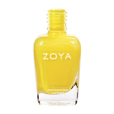 Zoya Nail Polish ZP479  Pippa  Yellow Nail Polish Cream Nail Polish