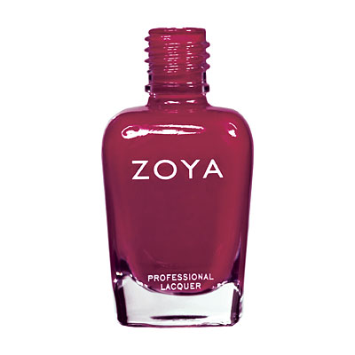 Zoya Nail Polish - Quinn - ZP423 - Red, Cream, Cool