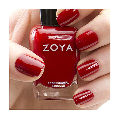 Zoya Nail Polish ZP626  Rekha  Red Nail Polish Cream Nail Polish