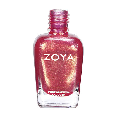 Zoya Nail Polish - Rica - ZP550 - Orange, Pink, Coral, Metallic, Warm