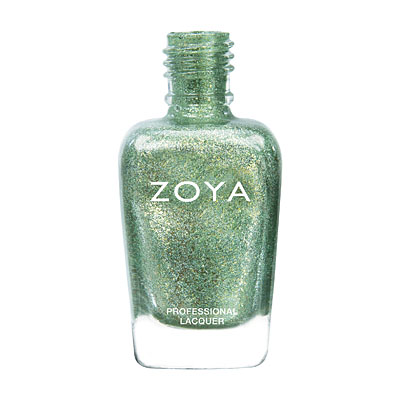 Zoya Nail Polish - Rikki - ZP674 - Green, Metallic, Cool, Neutral