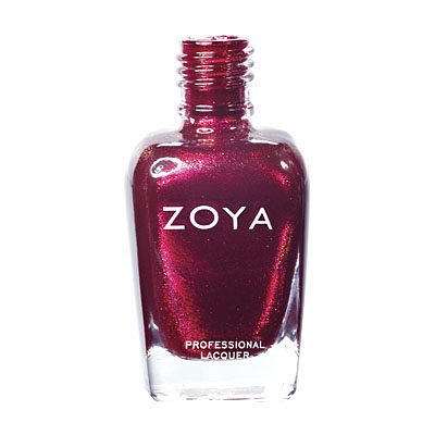 Zoya Nail Polish - Sarah - ZP535 - Red, Metallic, Cool