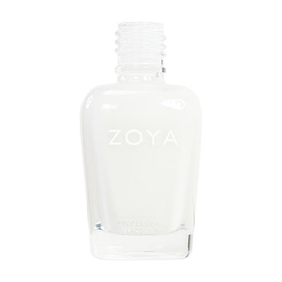 Zoya Nail Polish - Snow White - ZP114 - White, Cream, Cool