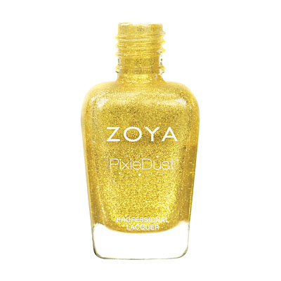 Zoya Nail Polish - Solange - PixieDust - Textured - ZP683 - Yellow, Warm, Neutral