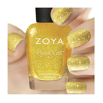 Zoya Nail Polish in Solange - PixieDust - Textured alternate view 2 (alternate view 2 full size)