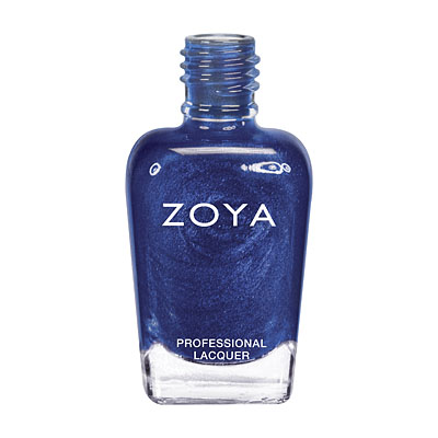 Zoya Nail Polish - Song - ZP634 - Blue, Metallic, Cool
