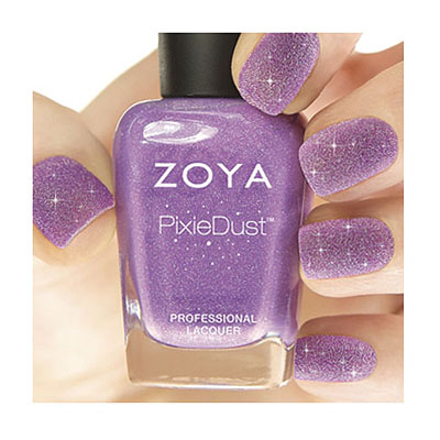 Zoya Nail Polish ZP675 Zoya PixieDust - Textured Nail Polish Stevie  Purple Nail Polish PixieDust - Textured Nail Polish