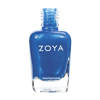 Zoya Nail Polish - Tallulah - ZP481 - Blue, Metallic, Cool