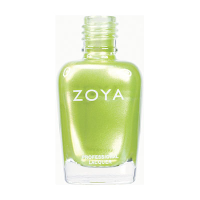 Zoya Nail Polish ZP406  Tangy  Green Nail Polish Metallic Nail Polish