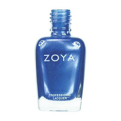 Zoya Nail Polish - Tart - ZP402 - Blue, Metallic, Cool