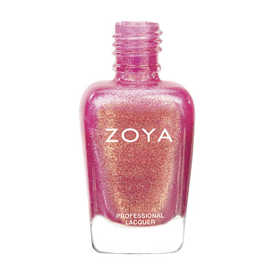 Zoya Nail Polish - Tinsley - ZP671 - Pink, Metallic, Warm, Cool