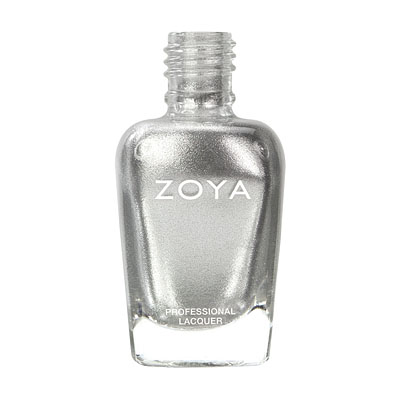 Zoya Nail Polish - Trixie - ZP389 - Silver, Grey, Metallic, Cool