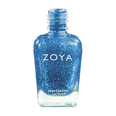 Zoya Nail Polish - Twila - ZP580 - Blue, Special Effect, Cool