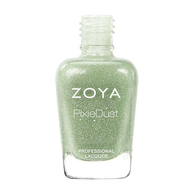 Zoya Nail Polish - Vespa PixieDust - Textured - ZP659 - Green, Cool, Neutral