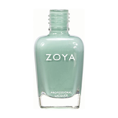 Zoya Nail Polish ZP619  Wednesday  Blue Green Nail Polish Cream Nail Polish