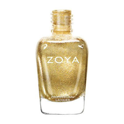 Zoya Nail Polish - Ziv - ZP644 - Gold, Metallic, Warm