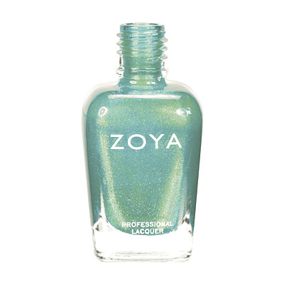 Zoya Nail Polish - Zuza - ZP625 - Blue, Green, Teal, Metallic, Cool