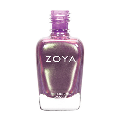 Zoya Nail Polish - Adina - ZP608 - Purple, Metallic, Cool, Warm