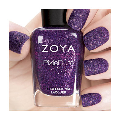 Zoya Nail Polish in Carter PixieDust - Textured alternate view 2 (alternate view 2 full size)